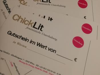 50-Euro-Büchergutschein Buchhandlung ChickLit