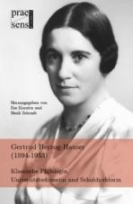 Gertrud Herzog-Hauser (1894-1953)